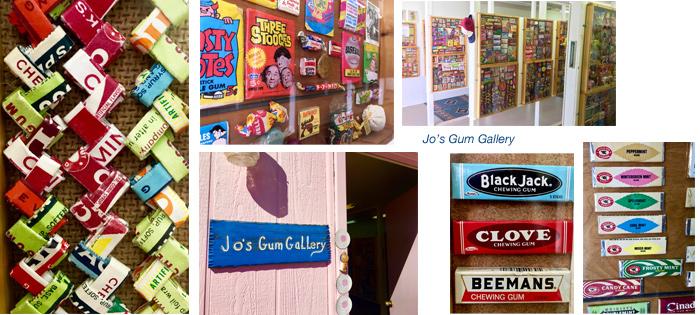 Airstreaming Joanne's Gum Gallery Quartzsite Arizona