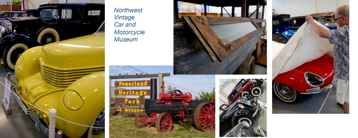 VAC at Northwest Vintage Car & Motorcycle Museum Brooks Oregon