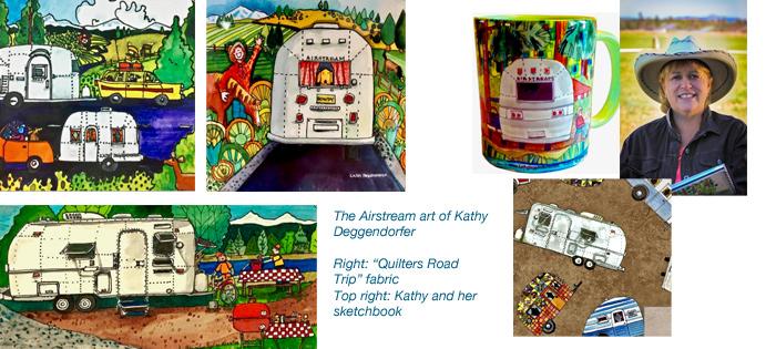 the airstream art of kathy deggendorfer | 'STREAMING