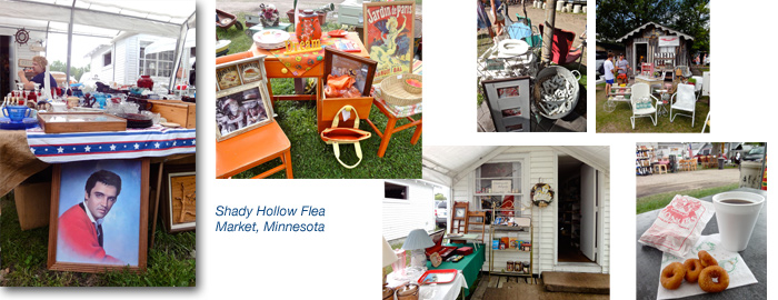 Shady Hollow Flea Market, Detroit Lakes, Minnesota