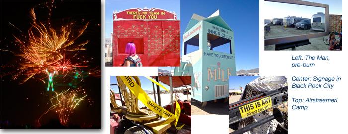 Burning Man 2010 - Airstreameri camp in Black Rock City