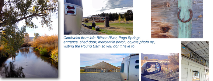 Airstream road trip: Steens Mountain, Frenchglen, Round Barn, Harney County Oregon