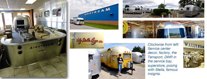 Airstream factory and service center, Jackson City, Ohio