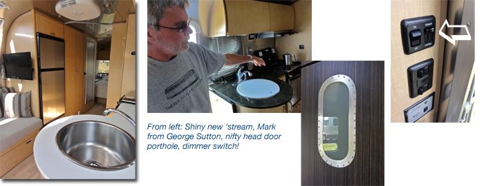 New Airstream models 2013, George Sutton RV, Oregon