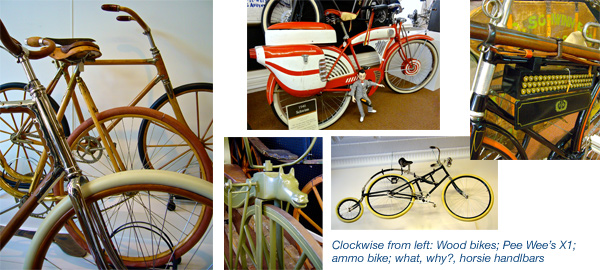 Bicycle museum near Airstream factory in Ohio