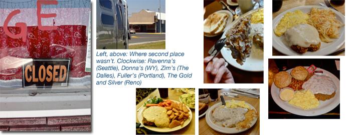 Chicken fried steak taste test — Airstreaming in the West