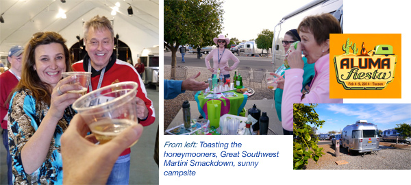 Alumafiesta Airstream event, Tucson, Arizona, 2014