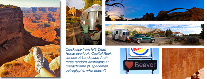 Airstream camping in Utah: Arches, Bryce, Moab, more!