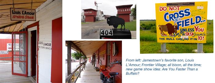 Airstream road trip to Jamestown, North Dakota, and Frontier Village