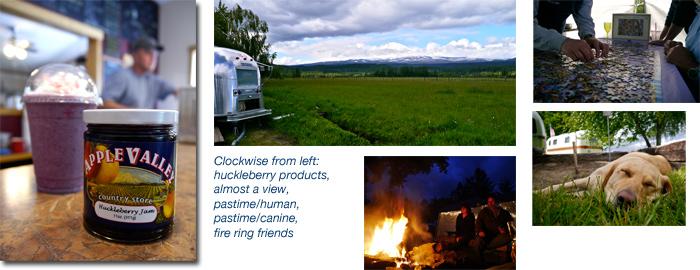 Airstream gathering at Hollenbeck Park, Trout Lake, Washington