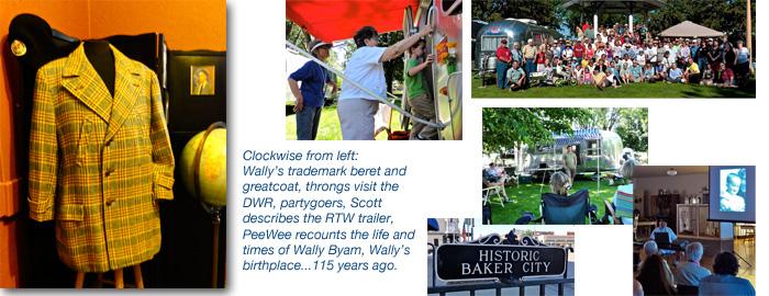 Wally Byam's birthday 2011, exhibit and Airstream rally, Baker City, Oregon