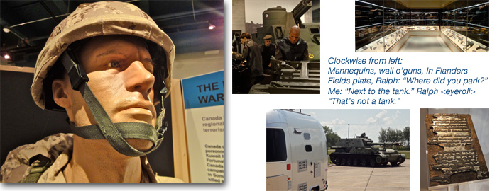 Airstream road trip: Canada's National Artillery Museum, Manitoba
